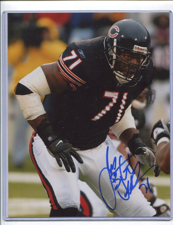 JAMES WILLIAMS Autographed 8x10 Photo #1 Chicago Bears