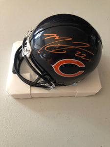 MATT FORTE Autographed Chicago Bears Mini Helmet PSA/DNA COA