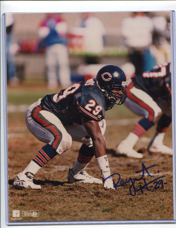 RAYMONT HARRIS Autographed 8x10 Photo Chicago Bears