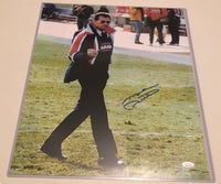 MIKE DITKA Autographed 16x20 Photo Iconic Middle Finger Photo Chicago Bears JSA COA