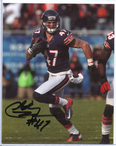 CHRIS CONTE Autographed 8x10 Photo Chicago Bears