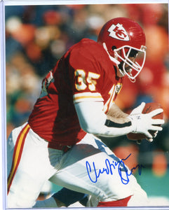 CHRISTIAN OKOYE Autographed 8x10 Photo Kansas City Chiefs