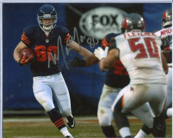 MARC MARIANI Autographed 8x10 Photo #1 Chicago Bears