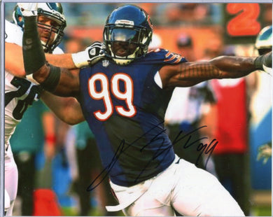 Lamarr Houston Autographed 8x10 Photo Chicago Bears