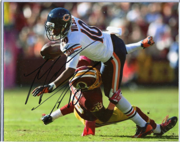 Marquess Wilson Autographed 8x10 Photo Chicago Bears