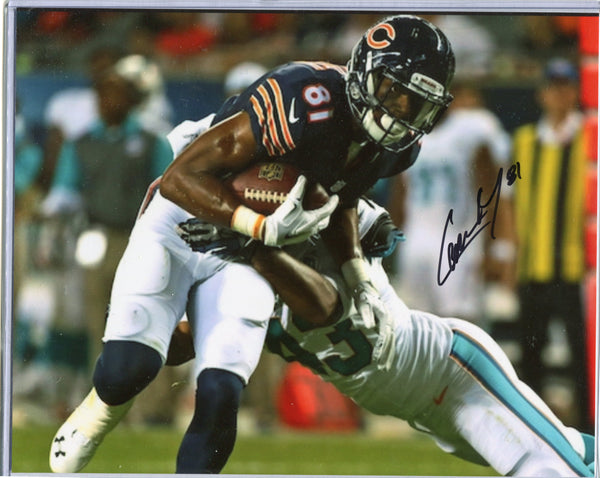 CAMERON MEREDITH Autographed 8x10 Photo #1 Chicago Bears