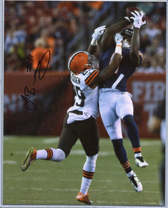 JOSH BELLAMY Autographed 8x10 Photo #1 Chicago Bears