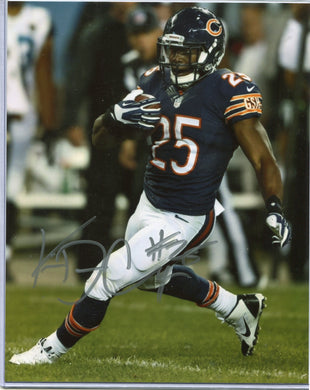 Ka'Deem Carey Autographed 8x10 Photo Chicago Bears