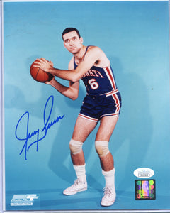 JERRY LUCAS Autographed 8x10 Photo Cincinnati Royals JSA COA