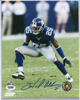 WILL ALLEN Autographed 8x10 Photo New York Giants PSA/DNA COA