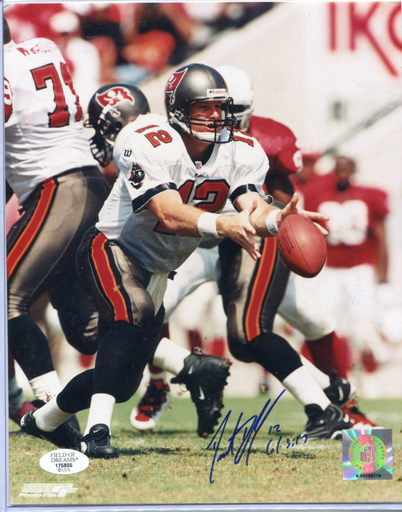 TRENT DILFER Autographed 8x10 Photo Tampa Bay Buccaneers Field of Dreams COA