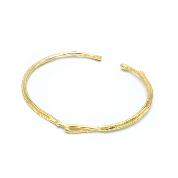 Quorra 18k Yellow Gold Bangle