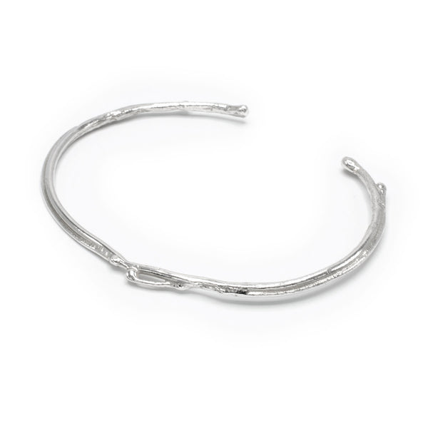 Quorra Sterling Silver Bangle
