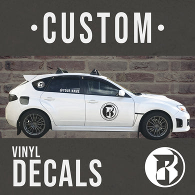 Vinyl Car Decals - Rapture