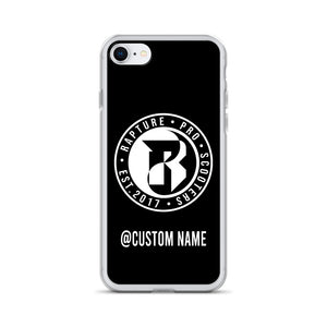 Rapture Custom Name iPhone Case (Black)