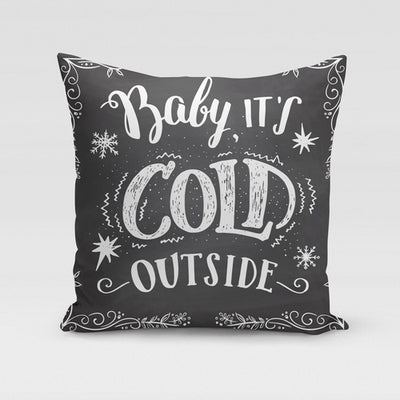 Cold Outside Pillow Cover