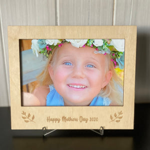 Photo Frame - Custom wording