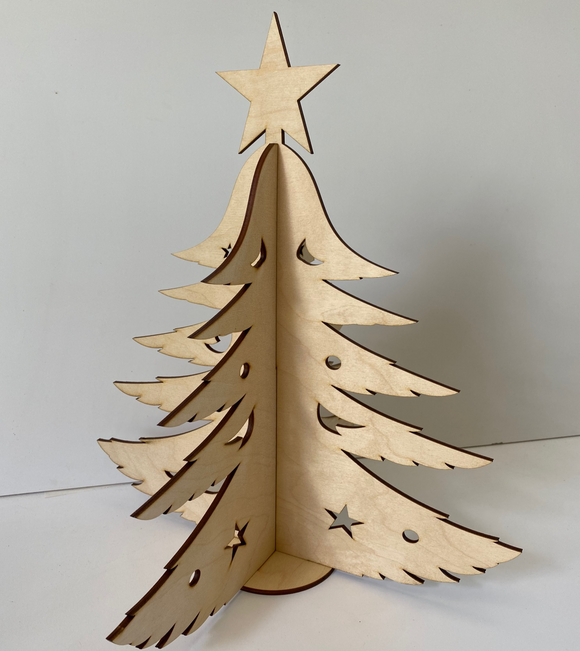 Mini Timber Christmas Tree