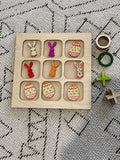 Tic Tac Toe - DIY colour in pack
