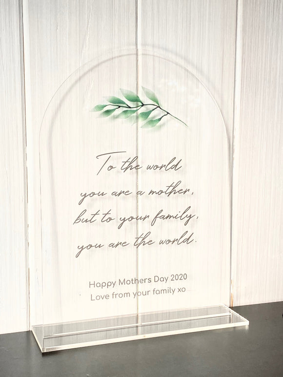 Mothers Day Plaques - Custom