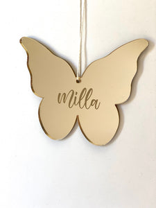 Christmas Butterfly Ornament