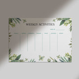 Weekly Activities - White Board