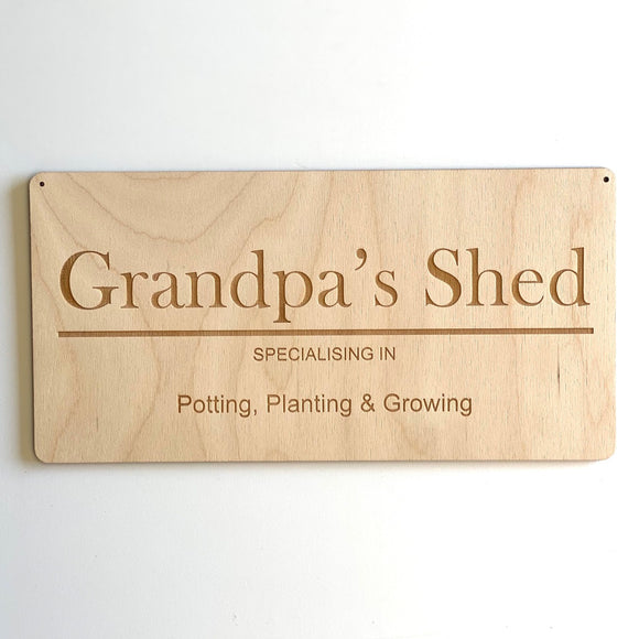 Fathers Day Engraved Sign