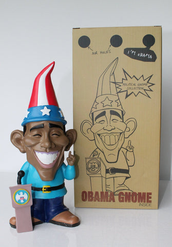 Obama Gnome with Packaging