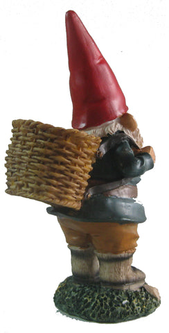 Walking Stick Garden Gnome