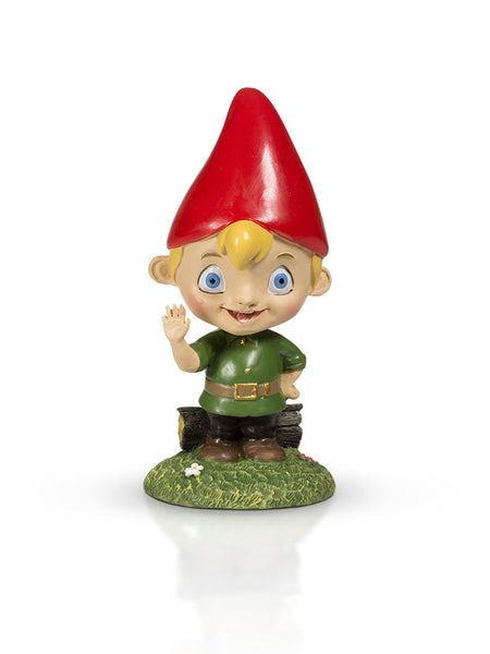 Little Boy Garden Gnome 4""
