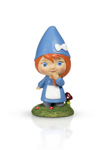 Little Girl Garden Gnome 4""