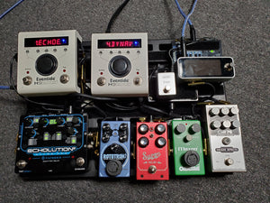 David Koltai's Pedalboard feat. the OD808-40P