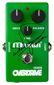 Maxon OD808 40th Anniversary Serial #: 1-40 (signed by Susumu Tamura)