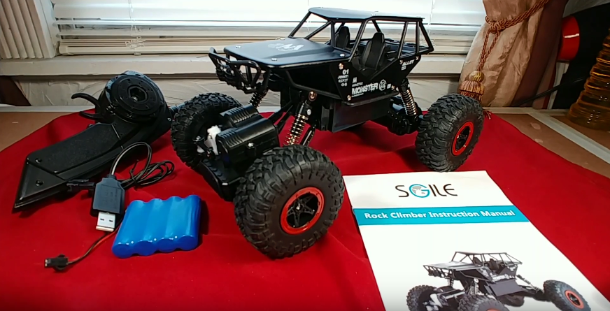 SGILE 1:18 SCALE ALLOY TOY GRADE RC CRAWLER - RIG RUN DOWN