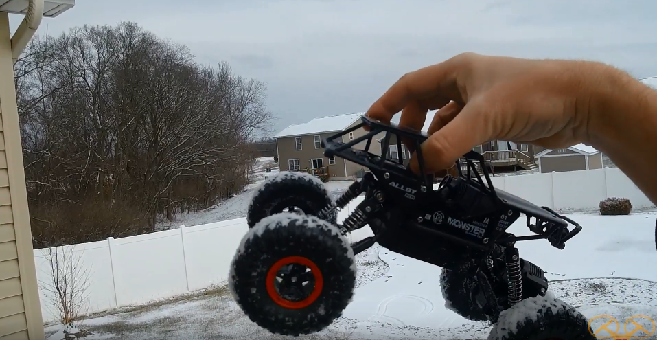 Fun Racing Car! SGILE Rock Climber Snow Test Drive