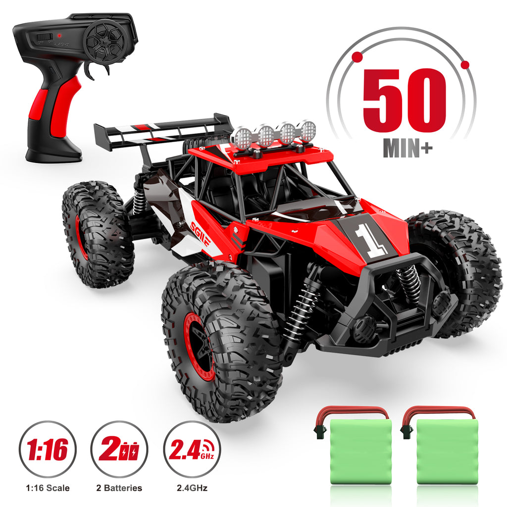 SGILE 1:16 RC CAR TOY for Xmas Gift