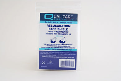 Resuscitation faceshield for CPR pack of 5