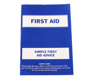 First aid kit guidance notes