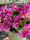 Faux Purple Rhododendron Spray