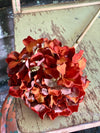 Faux Dried Look Hydrangea Stem