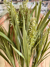 Faux Flowering Grass Bush (3 Colors)