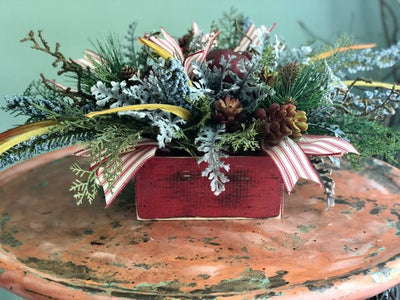 The Evangeline Farmhouse Christmas Centerpiece