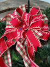 The Brandi Red Plaid Christmas