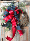 The Merida Rustic Winter Wreath