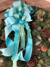 The Maci Blue Bow
