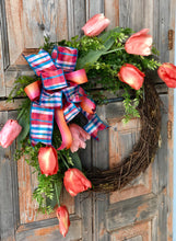 Load image into Gallery viewer, The Nadia Tulip Wreath