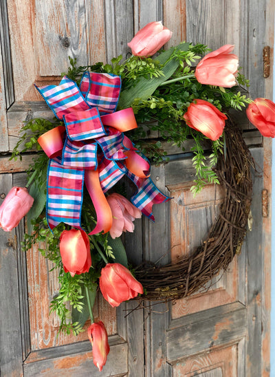 The Nadia Tulip Wreath