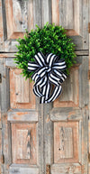 The Brianna Boxwood Wreath