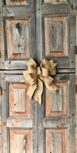 Load image into Gallery viewer, The Ginger Brown Burlap Bow