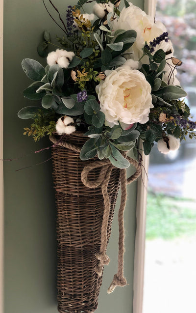 The Sarah Oversized Wall Hanging Basket